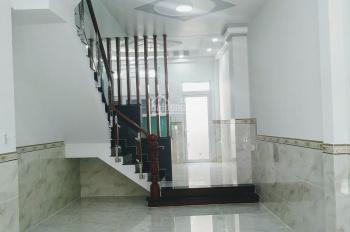 Bán nhà mới 3 lầu 8 x 14m, khu Bình Phú 2 HXH rộng