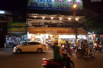 Chính chủ bán nhà mặt tiền 94 đường Khuông Việt, P5, Quận 11, giá 25 tỷ, DT: 13m x 13.65m