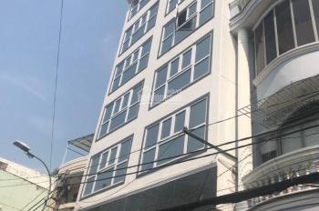 Bán gấp nhà mặt tiền Nguyễn Phi Khanh, quận 1 DT: 8x9m hầm 7 tầng, 11 phòng TN 210 triệu/tháng