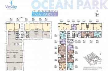 0359 260028, bán shophouse 2 tầng, Park 11, vị trí đẹp Vinhomes Ocean Park