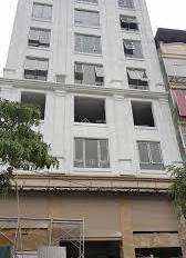 Cần bán nhà mặt phố Nguyễn Thái Học, DT 104m2, xây 9 tầng, thang máy, 21 phòng khách sạn