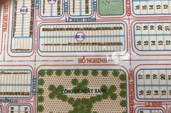 Bán lô đôi đường Hồ Nghinh đối diện công viên,diện tích 245 m2 giá 180 tr/m2 Liên hệ 0935.121.054