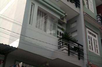Nhà MT nội bộ Bình Phú gần chợ Hồ Trọng Quý, (4x18m), 4 tấm, khu an ninh