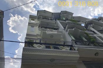 Gấp! Cần tiền bán gấp căn nhà phố cao cấp, phường 15, Tân Bình: 4x14m đúc 1 lửng 3 lầu