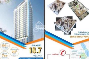 0969157027 chỉ 1,2 tỷ bạn đã có thể sở hữu căn hộ 2 pn 2 wc ở 24 Nguyễn Khuyến -Văn Quán - Hà Đông