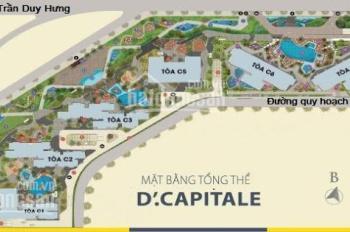 Bán cắt lỗ căn góc C2 - 60m2 - giá 2,4 tỷ D'Capitale Trần Duy Hưng