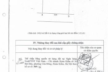 Chính chủ cần bán 85m2 đất thổ cư phường Trần Phú, giá rẻ, ô tô vào tận nhà