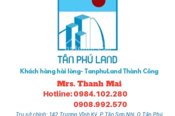 Nhà giá tốt 202 Đường Tô Hiệu Quận Tân Phú dt 4mx19m đường 12m giá 6.65 tỷ,