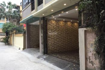Cần bán nhà xây mới tinh phố 8/3, Quỳnh Lôi, Tân Lập, 50m2x5T, có vỉa hè, ô tô vào nhà, giá 6,8 tỷ.