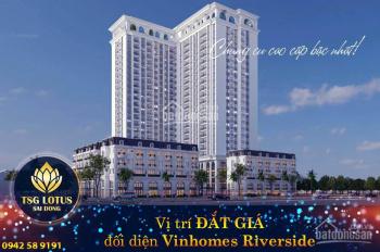 Căn hộ cao cấp liền kề vinhomes Riverside giá chỉ 28 triệu/m2; HTLS 0%; CK 3% giá bán.