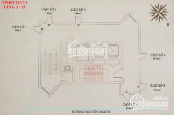 Chính chủ bán gấp căn chung cư CT1 Vimeco, Nguyễn Chánh DT 133m2. Giá RẺ CC: 0983 262 899