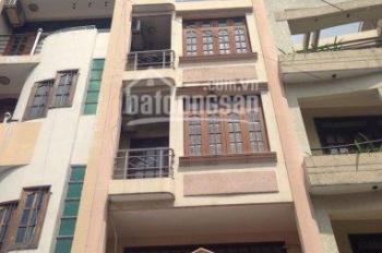 Nhà cho thuê 390/33 CMT8, P11, Q3 DT 4 x 12m, trệt, 1 lửng, 3 lầu, 5 phòng, 3 toilet, nhà nở hậu