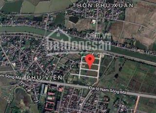 Đất nền mặt đường đại lộ Nam sông Mã, diện tích 90m2, giá 600tr/lô - LH 0911.808.793