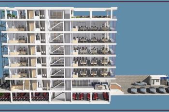 Bán tòa nhà MT Thoại Ngọc Hầu, Tân Phú, 1 hầm 7 lầu, DT: 10x59m đang cho thuê 450tr/th