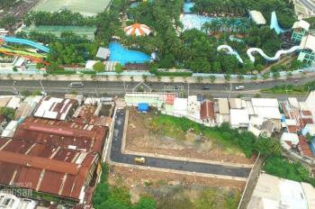 Duy nhất 22 nền MT Kênh Tân Hóa, Tân Phú, đối diện Đầm Sen Park. Giá chỉ 2.7 tỷ/nền, SHR - XDTD