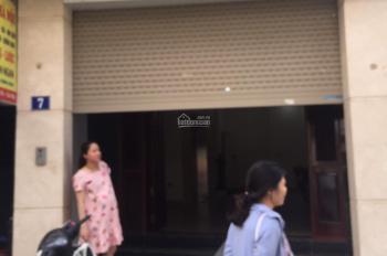 Cho thuê nhà mặt phố Khúc Thừa Dụ, quận Cầu Giấy 45m2 x 6T, MT 4.5m, thông sàn, có thang máy