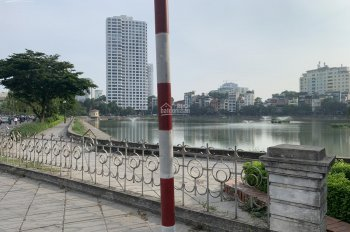 Cho thuê mặt bằng kinh doanh mặt đường Nguyễn Chí Thanh đối diện hồ Ngọc Khánh 180m2, MT 10m