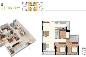 Chủ nhà cần cho thuê gấp căn hộ 3PN, chỉ 12 tr/th (bao dịch vụ) The Park Residence LH 0937.15.87.86