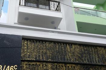 Bán nhà siêu đẹp 4.5x17m 4 lầu mới tinh Nguyễn Thiện Thuật, P24, cách chợ Bà Chiểu 500m