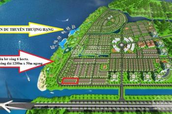 Khách bán nhanh lô shophouse 175m2 mặt tiền Song Hành KingBay để thanh toán lãi chậm dự án Phú Quốc