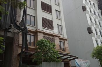 Cho thuê nhà mặt phố Trần Quốc Hoàn, 90m2 x 6T, MT 5.2m, thông sàn làm trà sữa, cafe, showroom