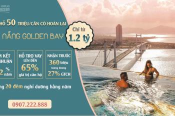 Hòa Bình Green Đà Nẵng từ 1,2 tỷ-đừng xuống tiền nếu bạn chưa rõ tiềm năng du lịch condotel này