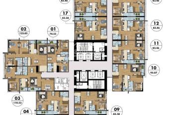 Bán gấp CH Sapphire 3 Goldmark căn 1617 (83,46m2) và căn 1506 (99m2) giá 25 tr/m2, 0963.920.284