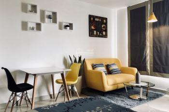 Cho thuê gấp lô officetel River Gate, 31m2, full nội thất, 14 tr/tháng. LH: 0906.378.770