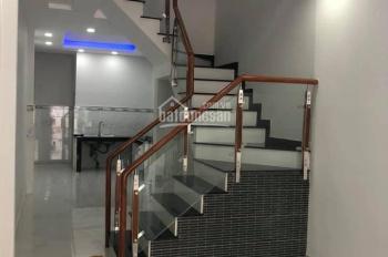 CC cần bán căn nhà 1 trệt 1 lầu cách siêu thị Lotte Mark Gò Vấp 500m; Hẻm xe tải. LH: 0938101915