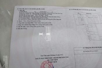 Bán gấp lô đất trồng cây lâu năm đường Trần Văn Hai ngay trường THPT Trường Chinh