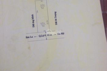 Bán 2 lô đất mặt đường QL 6, thuộc tiểu khu 12, thị trấn Mộc Châu