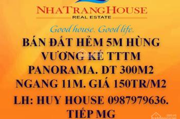 Bán đất hẻm 5m Hùng Vương kế TTTM  Panorama. LH  0987979636.