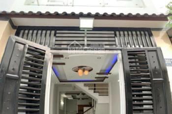 Hình thật! Nhà phố tuyệt đẹp Nguyễn Duy Cung, P12, GV, DT: 3.2m x 11m, 1 trệt, 3 lầu, 3PN + 3WC