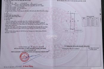 Bán gấp lô đất Vĩnh Lộc A, SHR chính chủ, MT đường nhựa 8m, công chứng ngay, giá 24.5tr/m2
