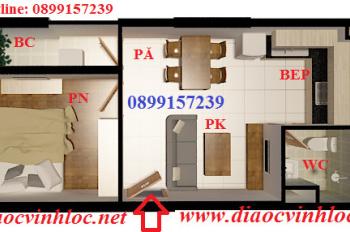 Căn hộ Vĩnh Lộc tòa D1: 42m2, SH vĩnh viễn, nội thất, full WC, tổng giá bán 719 tr, LH 0915489639