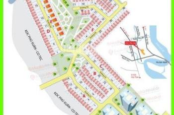 Cần bán đất ở Cotec Phú Gia, Nhà Bè, Phú Xuân. Giá tốt dãy C DT 140m2, giá 21.5 tr/m2: 0911106397