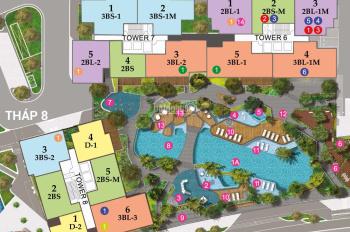 Bán CH The View sắp nhận nhà-LTT đến 09/2021 từ CĐT Keppel Land-2PN 104m2 4.6 tỷ-3PN 124m2 4.9 tỷ