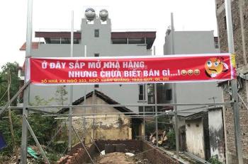 Bán 39m2 đất lô góc kinh doanh đường 7m trục chính An Lạc, Trâu Quỳ, Gia Lâm, giá chỉ 1,75 tỷ