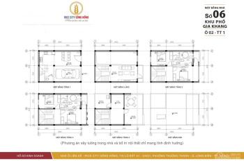 Chính chủ bán nhà liền kề DT54m2, MT6m, Giá 4,1 tỷ, Phố Gia quất, phường thượng thanh, Long Biên