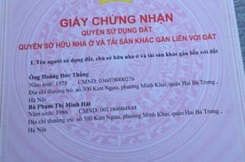 Chính chủ bán nhà 4 tầng giá 3.6 tỷ SN 1 ngõ 255 Phố Hoàng Mai, P. Hoàng Văn Thụ, Quận Hoàng Mai