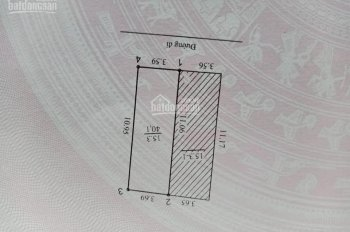 Nhà Lĩnh Nam Ô tô đỗ cửa 40m, sổ nở hậu 4 tầng giá 2.5 tỷ.
