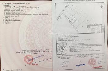 Cần bán 6 lô đất đường mặt tiền Phước Thắng, phường 12, thành phố Vũng Tàu