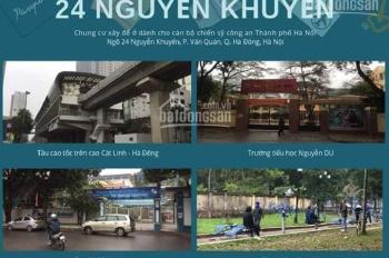 Chỉ còn ba căn cuối cùng mua bán theo hình thức thương mại dự án nhà ở chính sách 24 Ng Khuyến
