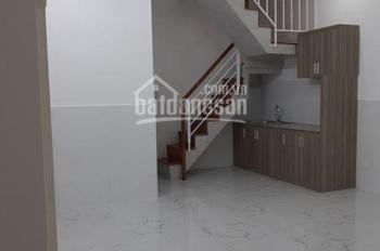 Cần bán nhà mới nằm sau lưng bến xe An Sương, DT: 3,8x12m (45.6m2), giá 856tr, LH: 0823.753.423