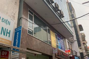 Chính chủ cho thuê văn phòng mặt phố Nguyễn Khang, DTSD 45m2, giá thuê 7tr/th. LH 0971993386 (MTG)