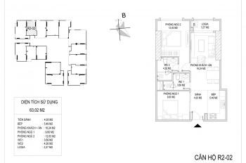 Sunshine Riverside căn hộ 2PN, 2WC full nội thất + VAT + KPBT, chỉ từ 2.3 tỷ/căn. LH: 0911471295
