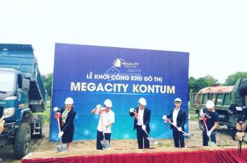 Khu đô thị Megacity Kontum Trên đường Hùng Vương - gần trung tâm TP - với 399tr/ 160m2