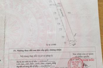 Cần bán gấp mặt tiền DT746 đối diện nhà thờ Bến Sắn ngang 12m dài 100m thổ cư 200m2. Gia 13tỷ2