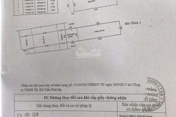 CHÍNH CHỦ- Bán nhà mặt tiền đường Tân Quý, gần chợ Tân Hương, 4x18m, đúc 1 trệt, 2 lầu. Giá 9,8 tỷ
