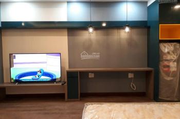 Cho thuê căn hộ studio thiết kế đẹp như hình đăng, 36m2, 12.5tr/bao phí quản lý, Orchard Garden